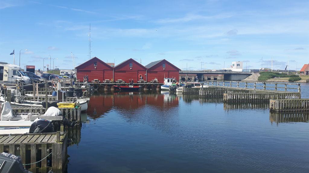 Thorsminde havn by