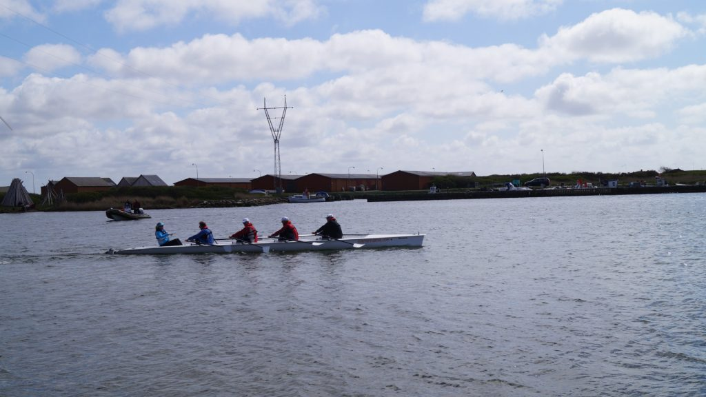 Coastal Rowing gammel havn Thorsminde
