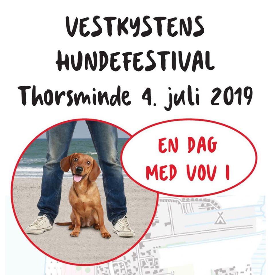 Vestkystens Hundefestival torsdag den 4. juli i Thorsminde